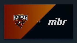 Mibr vs  Renegades - Iem katowice 2019