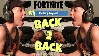 FORTNITE: VICTORY ROYALE BACK TO BACK? (ROCCO PIAZZA)