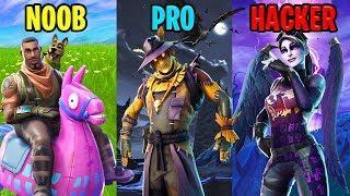NOOB vs PRO vs HACKER - Fortnite Funny Moments