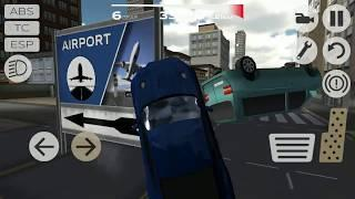 Cars Crash Extreme Mercedes Sports | Extreme Car Driving Simulator