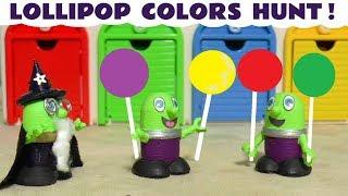 Learn Colors with Colorful Lollipops and the funny Funlings - A fun story for kids