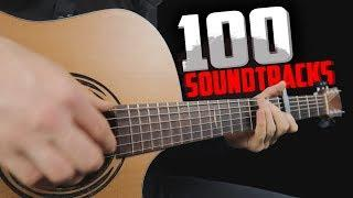 Top 100 Soundtracks on guitar