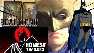 Honest Trailers - Batman: The Animated Series REACTION!!