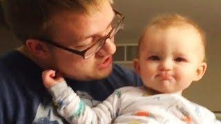 Funny Daddy and Baby Beatbox - Funny Cute Video