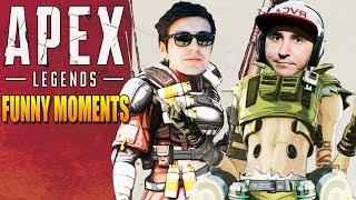 Apex Legends Funny Moments & Epic Fails ,WTF Moments, Twitch Highlights Compilation! #25
