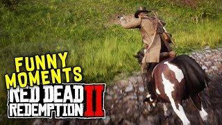 Red Dead Redemption 2 Funny Moments (#1)