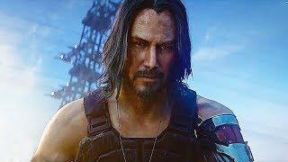 Cyberpunk 2077 Keanu Reeves Reveal Trailer (E3 2019) John Wick