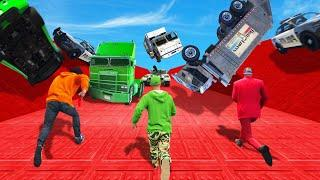 NO ONE Survives This Vehicle AVALANCHE! (GTA 5 Funny Moments)