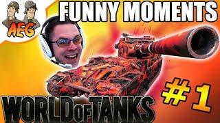 World of Tanks Funny Moments - EdvinE20 Edition #1
