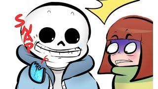 Why is Sans so funny?【 Undertale Comic Dub 】