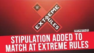 Stipulation Added To Match At Extreme Rules