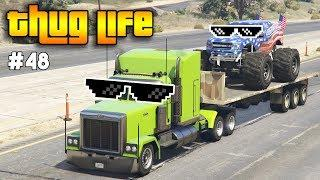 GTA 5 ONLINE : THUG LIFE AND FUNNY MOMENTS (WINS, STUNTS AND FAILS #48)