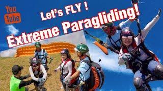 Extreme PARAGLIDING - tara lipad tayo!