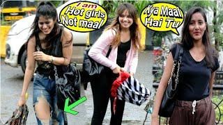 cute girls asking Kaise fatty Teri | prank on cute girls | call crash prank | call clash prank, brb