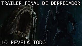 Trailer Final de Depredador 2018 lo REVELA TODO | Analisis del Trailer Final de Depredador 2018