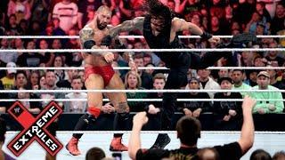 The Shield Vs Evolution - Extreme Rules 2014 Full Match HD