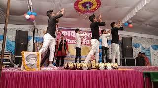 #  lazy dance with bright munde team # kayasthpura mohotsaw # funny dance