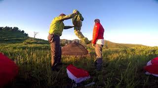 Paramotor Fly Camping Adventure!! Powered Paragliding Extreme Father & Son Mountain Exploration!!