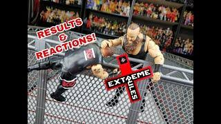 WWE EXTREME RULES 2018 RESULTS & REACTIONS | WWE FIGURES