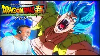 Broly vs Gogeta New Trailer 5! Dragon Ball Super Broly Movie 2018 SSB Gogeta OFFICIALLY REACTION!!!
