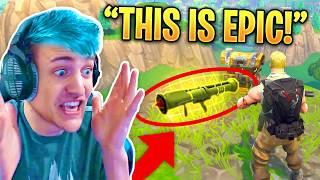 NINJA FINDS THE *NEW* GUIDED MISSILE LAUNCHER! - Fortnite Funny Fails & Epic Twitch Moments! #5