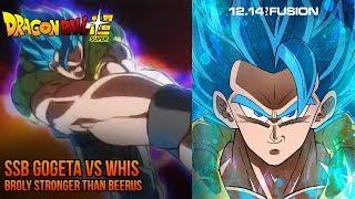 SSB Gogeta VS Whis - Dragon Ball Super Broly Movie 2018 Trailer 5 Reveal - MAJOR SPOILERS