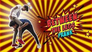 Walking Into Others Legs | Friendly Funny Prank | Vinay Kuyya