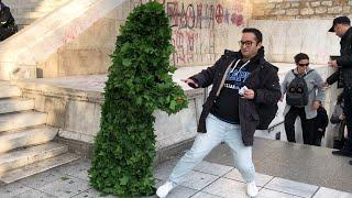 Bushman Prank in Greece