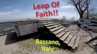 HANGGLIDING - SCARY RAMP TAKE-OFF!  BASSANO, ITALY