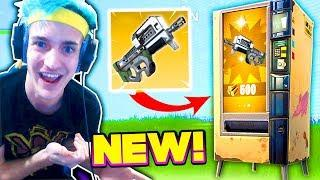 NINJA FINDS *NEW* VENDING MACHINE WEAPON! | Fortnite FUNNY & Best Moments (Battle Royale)