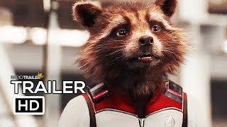 AVENGERS 4: ENDGAME Avengers Assemble Trailer (2019) Marvel, Superhero Movie HD