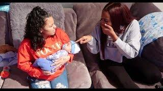 CALLING BABY CJ UGLY PRANK ON CARMEN & COREY!!! (GETS REAL)