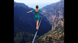 Don't Click If Afraid Of Heights. Vertigo. Space Jump, Extreme Skydiving, Zip Lining, BASE Jumping