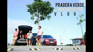 TRYING EXTREME SPORTS IN PRADERA VERDE (WAKEBOARDING) FT. RANZ KYLE,BIBOY AND GAB