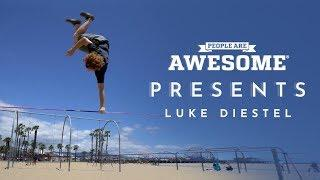 People Are Awesome Presents: Luke Diestel | Slackline