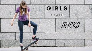 AWESOME SKATEBOARDING GIRLS 2019! #1 BEST SKATE & SKATEBOARD & SKATING TRICKS COMPILATION