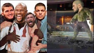 Conor McGregor vs Khabib Fight FUNNY Memes