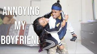 Annoying My Boyfriend While He Plays 2K PRANK *HE GETS MAD* | TKLUV