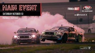 Formula Drift Irwindale 2018 - Main Event LIVE!