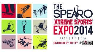 Interview with Zarir Saifuddin at The Spearo Extreme Sports Expo - Dubai Eye 103.8 Tim Elliot