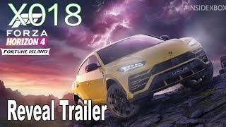 Forza Horizon 4 - X018 Fortune Island Reveal Trailer [HD 1080P]