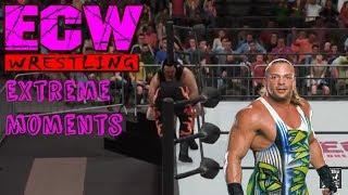 ECW Extreme Moments Edition #2 (WWE 2K18, Here Comes the Pain, Raw 2 and more!!)
