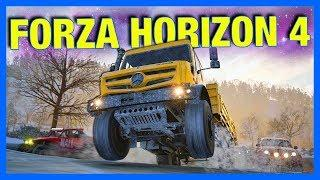 Forza Horizon 4 : ACHIEVEMENTS, PC SPECS, SOUNDTRACK & NEW CARS!!