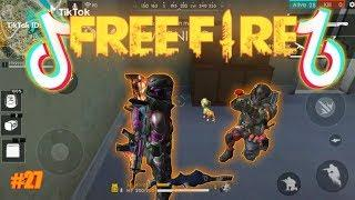 Freefire Tik tok #27 - auto kill, auto Booyah, funny moments