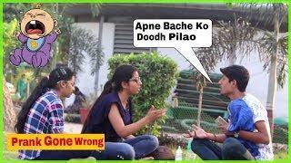 """Bacha Ro Raha Hai Ghar Chalo"" Prank On Cute Girls | Prank in India"