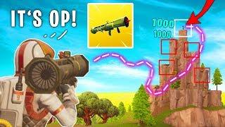 NEXT LEVEL GUIDED MISSILE ROCKET RIDING !! (Fortnite Battle Royale Funny Moments)