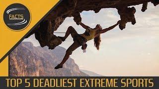 Most Dangerous Extreme Sports - [SPEECH + TEXT]