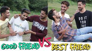 GOOD FRIEND VS BEST FRIEND  || FUNNY VIDEO || KANGRA BOYS 2018