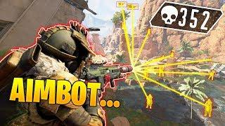 *HACKER* GETS 352 KILLS SOLO..!! - NEW Apex Legends Funny Epic Moments #X