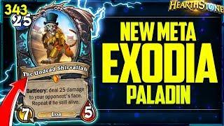 NEW INSANE OTK EXODIA PALADIN is BROKEN AF?! | Hearthstone Daily Funny Moments Ep. 343